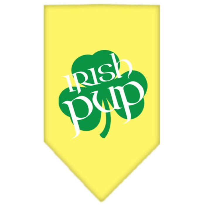 Irish Pup Screen Print Bandana