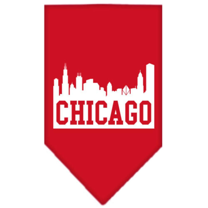 Chicago Skyline Screen Print Bandana