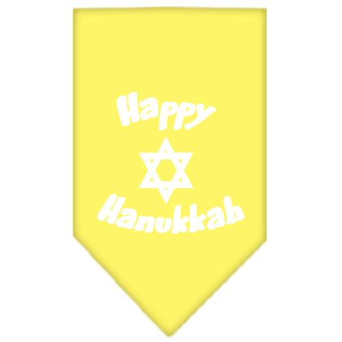 Happy Hanukkah Screen Print Bandana