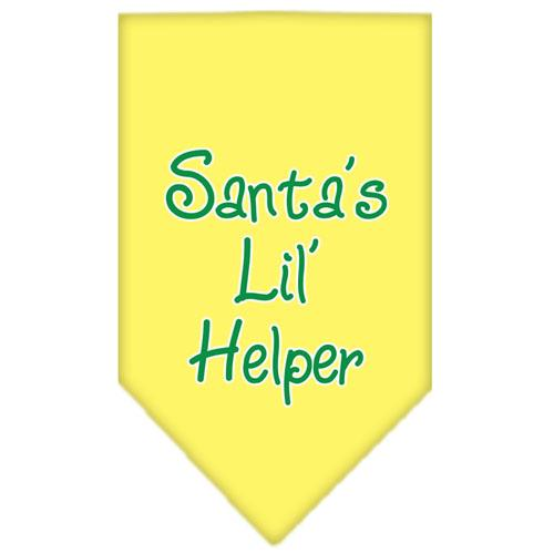 Santa Lil Helper Screen Print Bandana