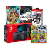 Nintendo switch Gen 2 Export set+ 1 tough kit +2 games + skylander Figure