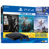 PS4 Slim 1TB Console Mega Pack