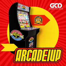 Arcade1Up: Street Fighter - Classic 3in1 Home Arcade (4ft)