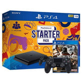 PS4 Starter Pack (1 year warranty) +PS4 Dualshock Wireless Controller - Black + PS4 Metal Gear Survive
