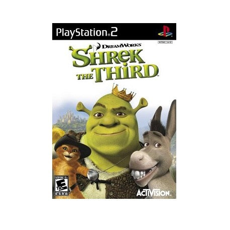 PS2 Dreamworks Shrek The Third