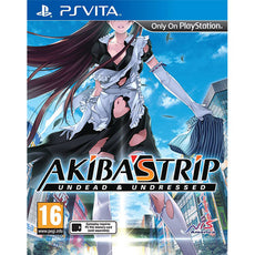 PS Vita Akiba's Trip Undead & Undressed