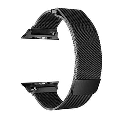 Watch Strap 42mm Space Black Milanese Loop