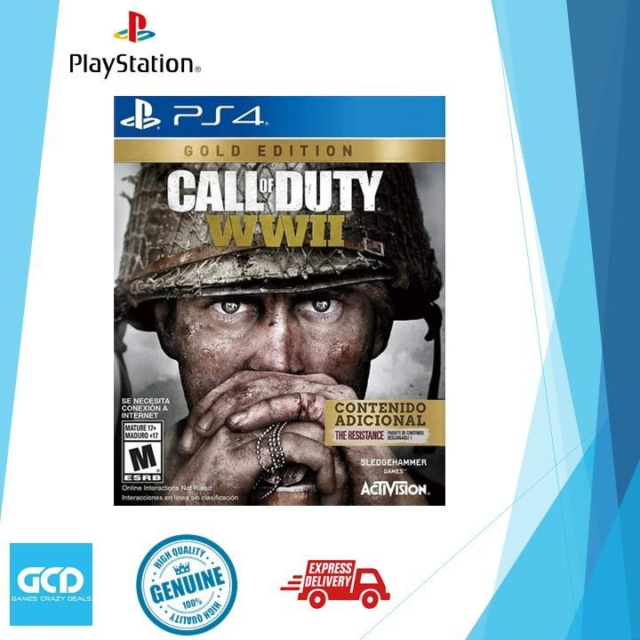 PS4 Call of Duty WWII Gold Edition (R-ALL)