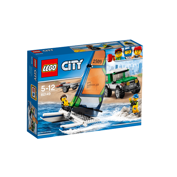 City 4X4 with Catamaran - 60149