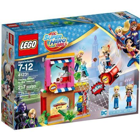 DC Super Hero Girls Harley Quinn to the rescue - 41231