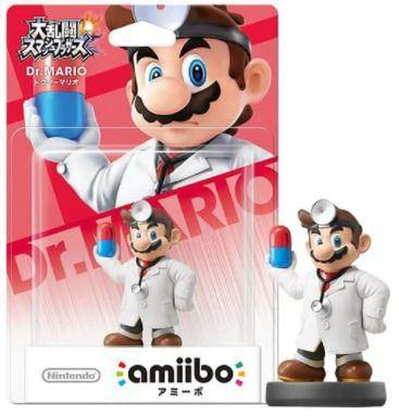 Amiibo Super Smash Bros. Series Figure- Dr. Mario
