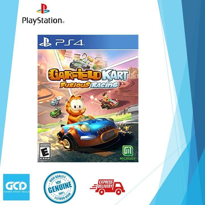 PS4 Garfield Kart Furious Racing (R-ALL)