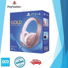 PS4 Gold Wireless Headset Rose Gold Edition (Export)