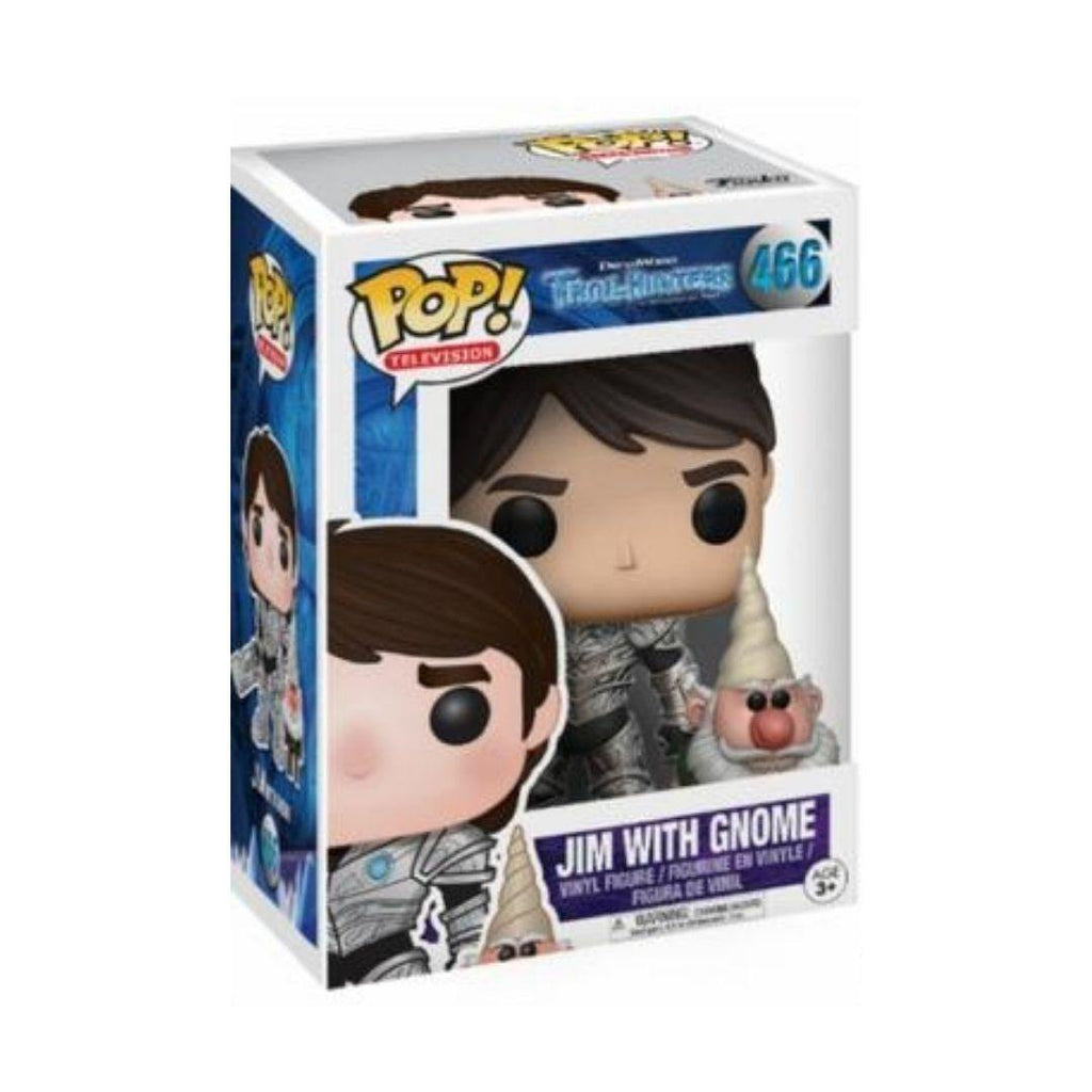 Funko Pop! Television: Dreamworks Trollhunters - Jim with Gnome #466