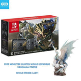 [AVAILABLE NOW] Nintendo Switch Monster Hunter Rise Limited Edition Console (JP) + Free Velkhana Statue