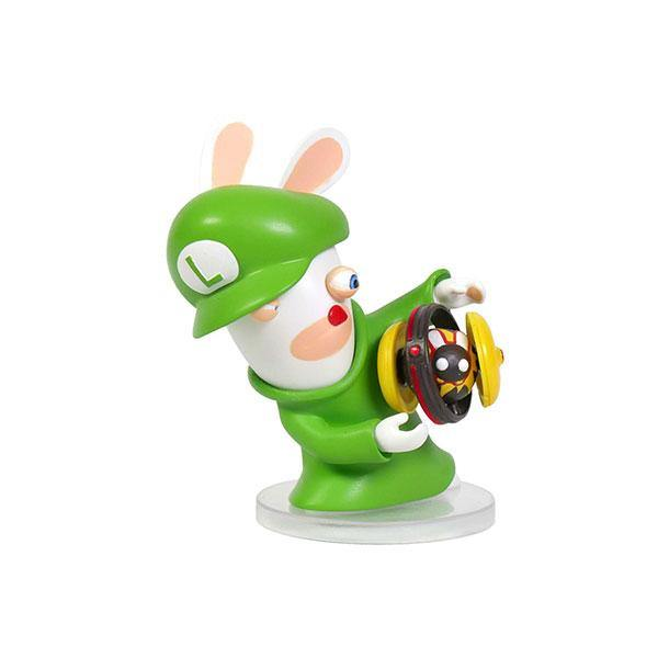 "Mario + Rabbid Kingdom Battle - Rabbid Luigi 3"" Figure"