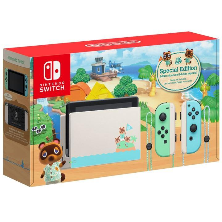 Nintendo Switch Animal Crossing New Horizons Limited Edition Console (Local Warranty)