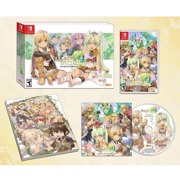 Nintendo Switch Rune Factory 4 Special Archival Edition