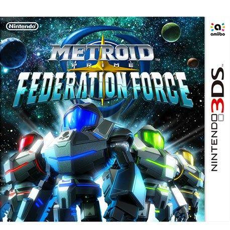 Nintendo 3DS Metroid Prime: Federation Force