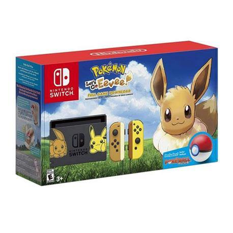 Nintendo Switch Console Eevee + Pokeball Plus (Export Set)