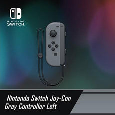 Nintendo Switch Joy-Con Grey Controller Left
