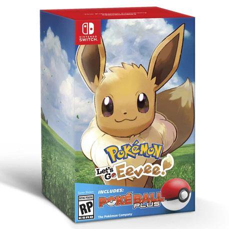 Nintendo Switch Let's Go Eevee + Pokeball Plus Bundle [Pre-order]