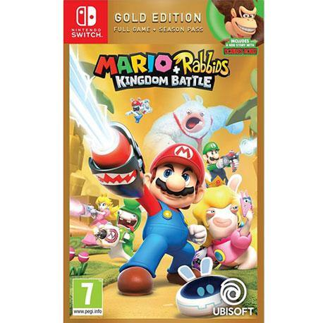 Nintendo Switch Mario + Rabbids Kingdom Battle Gold Edition
