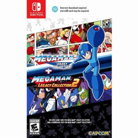 Nintendo Switch Megaman Legacy Collection + Megaman Legacy Collection 2