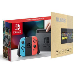 Nintendo Switch Console (Local Set) with Tempered Glass Screen Protector