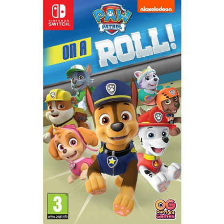 Nintendo Switch Paw Patrol On A Roll