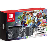 Nintendo Switch Super Smash Bros. Ultimate Limited Edition Console Bundle with download code (Export Set) (1 year warranty)