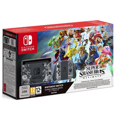 Nintendo Switch Super Smash Bros. Ultimate Limited Edition Console Bundle with download code (Export Set)