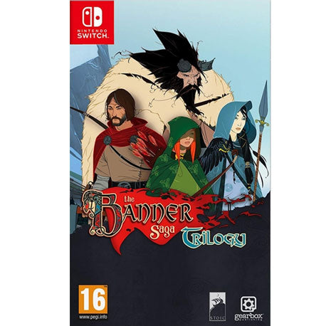 Nintendo Switch The Banner Saga Trilogy [Pre-order]