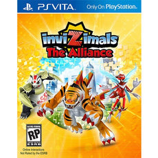 PS Vita Invizimals The Alliance