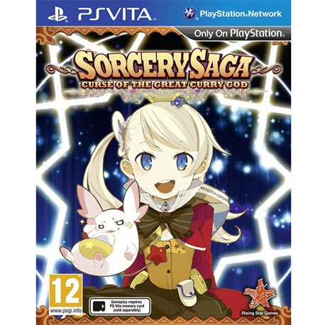 PS Vita Sorcery Saga Curse of Great Curry God