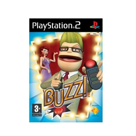 PS2 Buzz!: The Music Quiz (PAL)