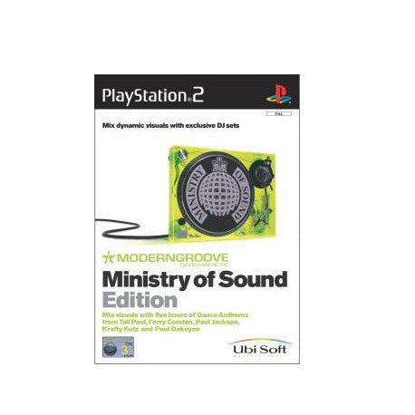 PS2 Modern Groove Ministry of Sound Edition (PAL)