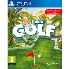 PS4 3D Mini Golf (R2)