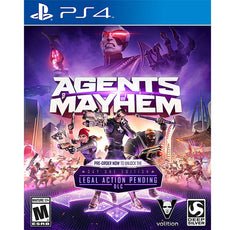 PS4 Agents Mayhem Day 1 Edition Legal Action Pending DLC