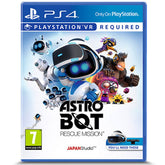 PS4 Astro Bot Rescue VR
