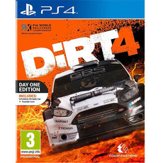 PS4 Dirt 4 Steelbook Day One Edition