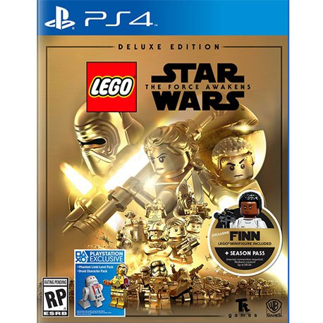 PS4 Lego Star Wars: The Force Awakes Deluxe Edition