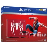 PS4 Marvel Spider-Man Console Limited Edition