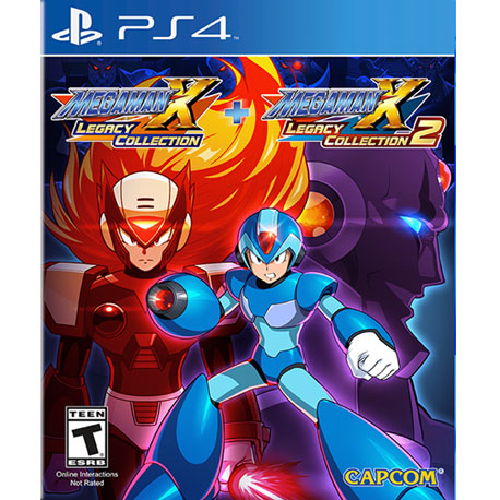 PS4 Mega Man X Legacy Collection 1 & 2