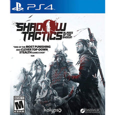 PS4 Shadow Tactics Blades of Shogun