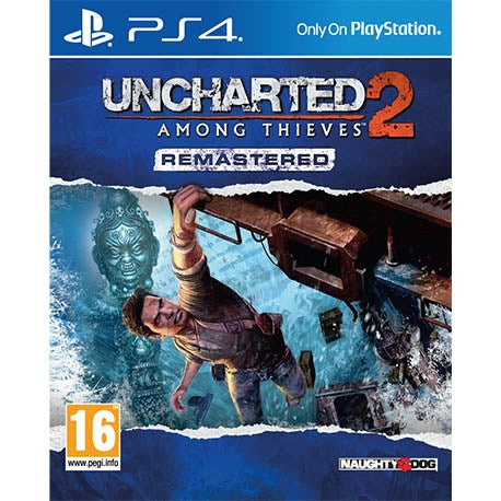 PS4 Uncharted 2: Among Thieves Remastered