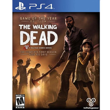 PS4 Walking Dead The Complete First Season