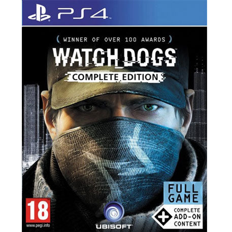 PS4 Watch Dogs - Complete Edition