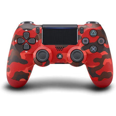 PS4 Dualshock Wireless Controller - Camo Red (Local Warranty)
