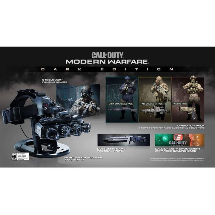 PS4 Call of Duty Modern Warfare Dark Edition (R3)
